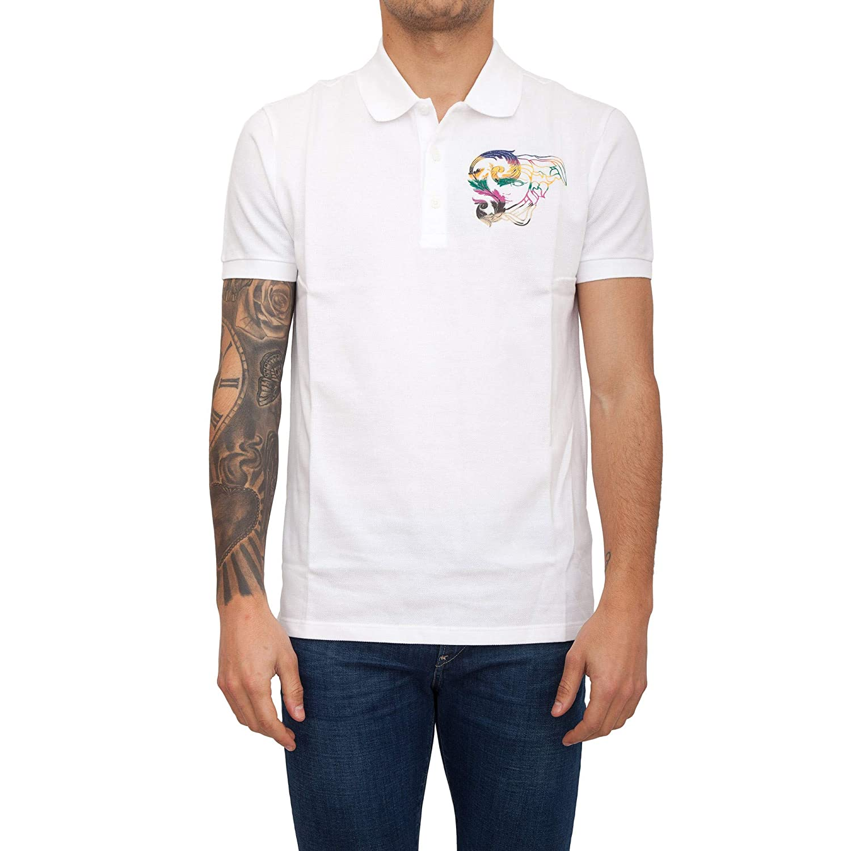 Versace Collection Polo Medusa Hombre Bianco L: Amazon.es: Ropa y ...