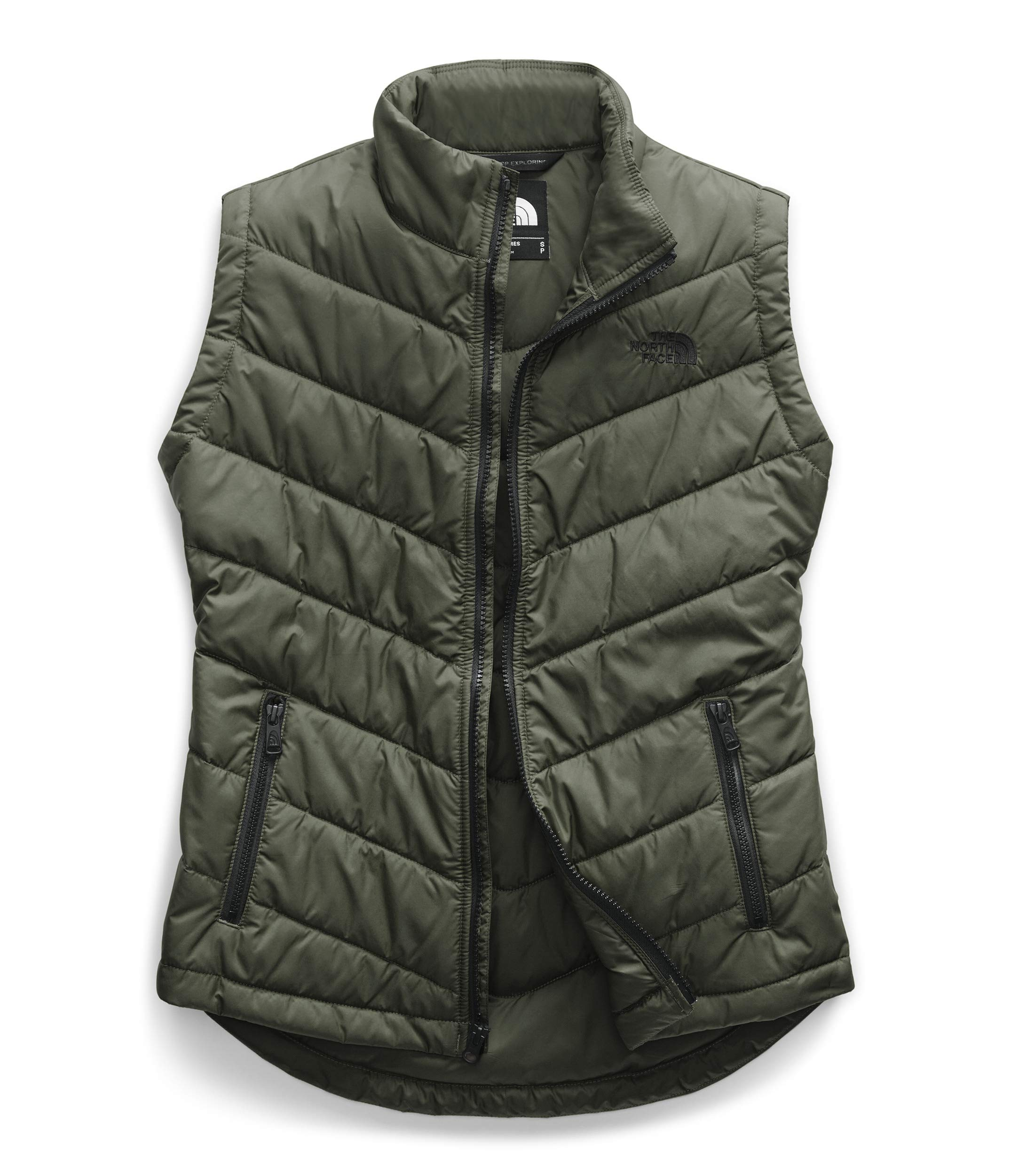 The North Face Women's Tamburello 2 Vest, New Taupe Green Heather, Large by The North Face