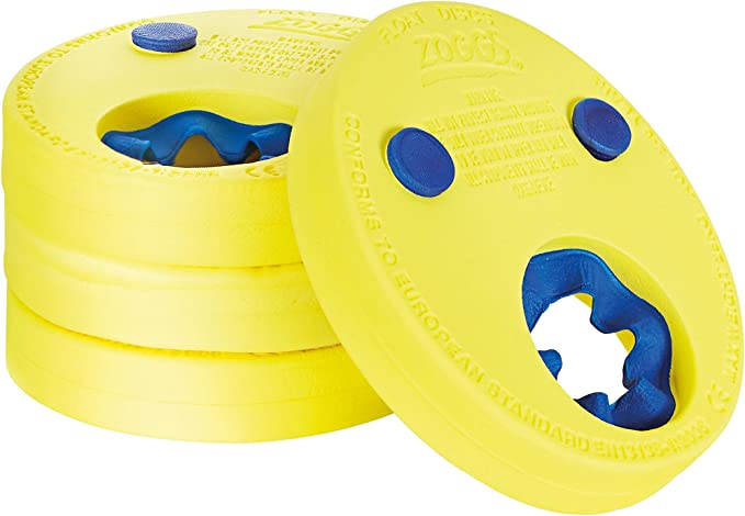 Zoggs Kids Lightweight And Comfortable Foam Float Discs Arm Bands for Swimming - 2-6 Years: Amazon.co.uk: Sports & Outdoors