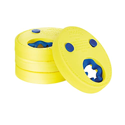 Zoggs Kids Lightweight and Comfortable Foam Float Discs Arm Bands for Swimming - 2-6 Years