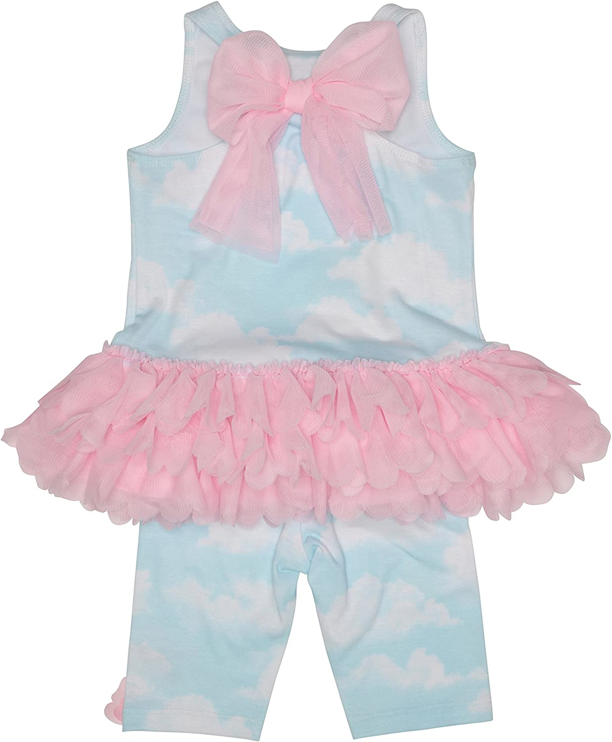 Kate Mack Baby Girls Infant Candy Cloud Terry Coverup