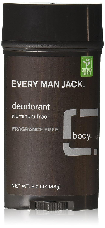 Every Man Jack Deodorant, Signature Mint, 3 oz 878639000209
