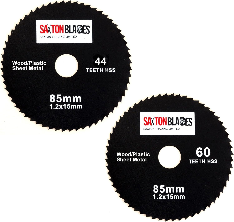 5pcs 85 mm Meuleuse Angle Lames de Scie pour Bois Disques Découpe Circulaire