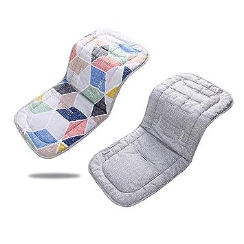 Amazon.com: Almohadilla para cochecito de bebé, cojín ...