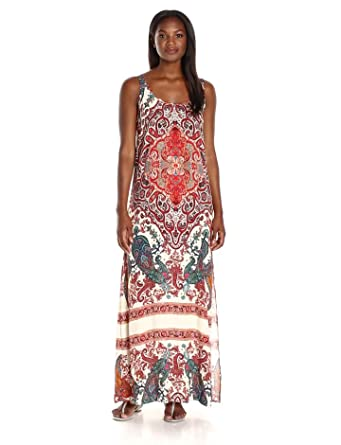 028a8a86394 Karen Kane Women s Side-Slit Maxi Dress