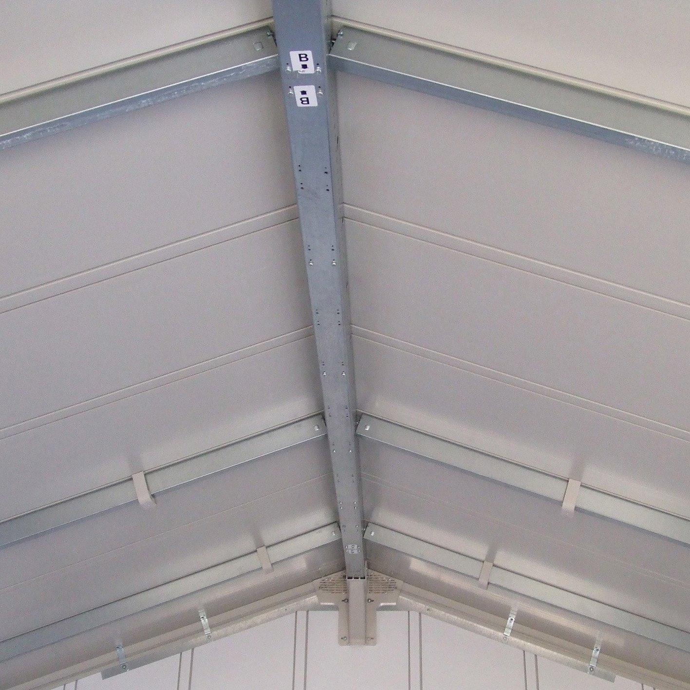 Grosfillex Deco 4,9 wei/ß//graublau Gartenhaus
