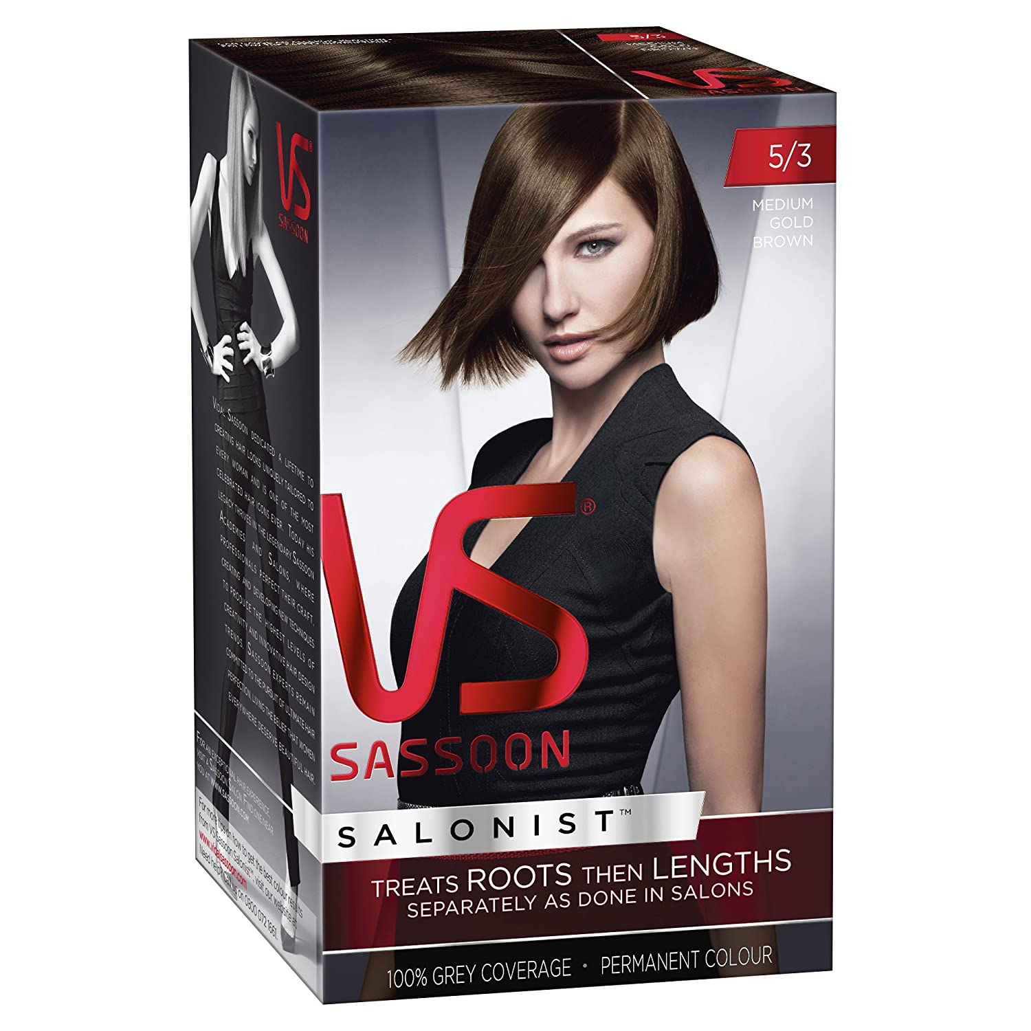 Vidal Sassoon Salonist Permanent Hair Colour 743 Intense Red