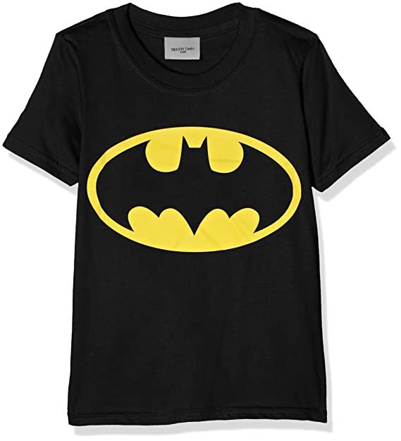 e49637414cbfa7 DC Comics Batman Logo T-Shirt Bambino: Amazon.it: Abbigliamento