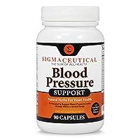 Premium Blood Pressure Support Formula - High Blood Pressure Supplement with Hawthorn...