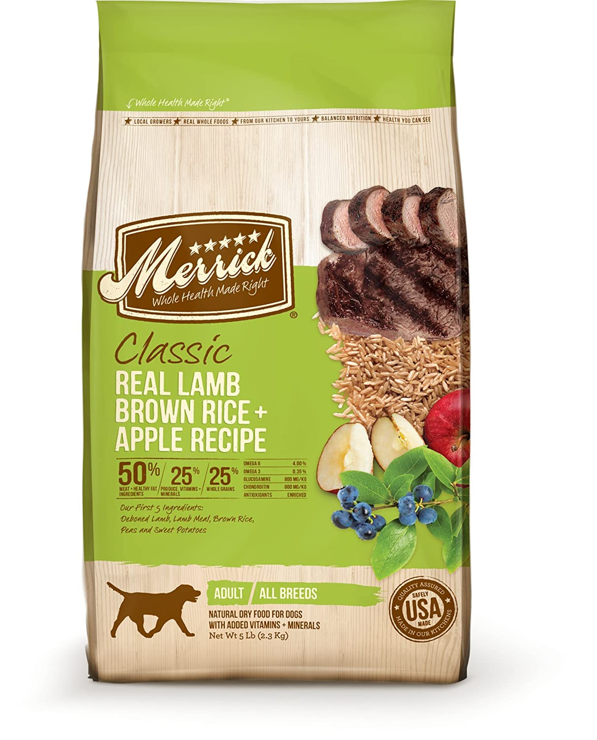 Merrick Classic Adult Large Breed Dry Dog Food