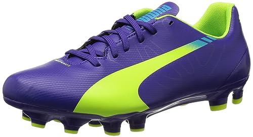Puma evoSPEED 5.3 FG Jr - Zapatillas de fútbol infantil: Amazon.es: Zapatos y complementos