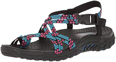 79ddb235f088 Skechers Women s Reggae Buckle Clip Sandal  Buy Online at Low Prices ...