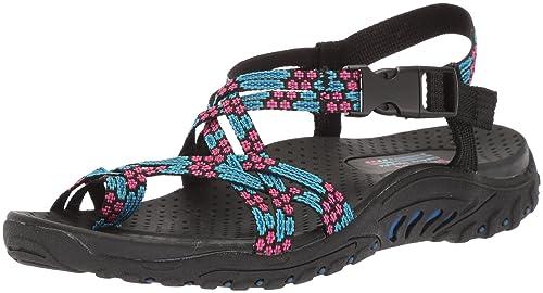 092afbebffdca Skechers Women s Reggae Buckle Clip Sandal  Buy Online at Low Prices ...