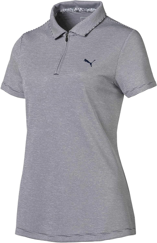 [プーマ] レディース シャツ PUMA Women's Soft Stripe Golf Polo [並行輸入品] XL  B07TF69Z33