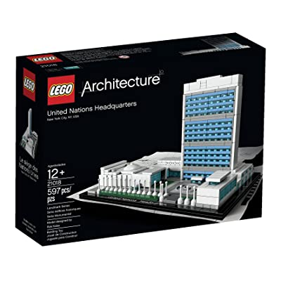 LEGO Architecture United Nations Headquarters 21018 (Discontinued by manufacturer): Toys & Games