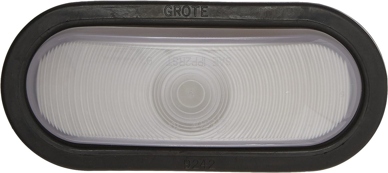 62231 + 92420 + 67010 Female Kit Grote 62251 Torsion Mount III Oval Dual System Backup Light