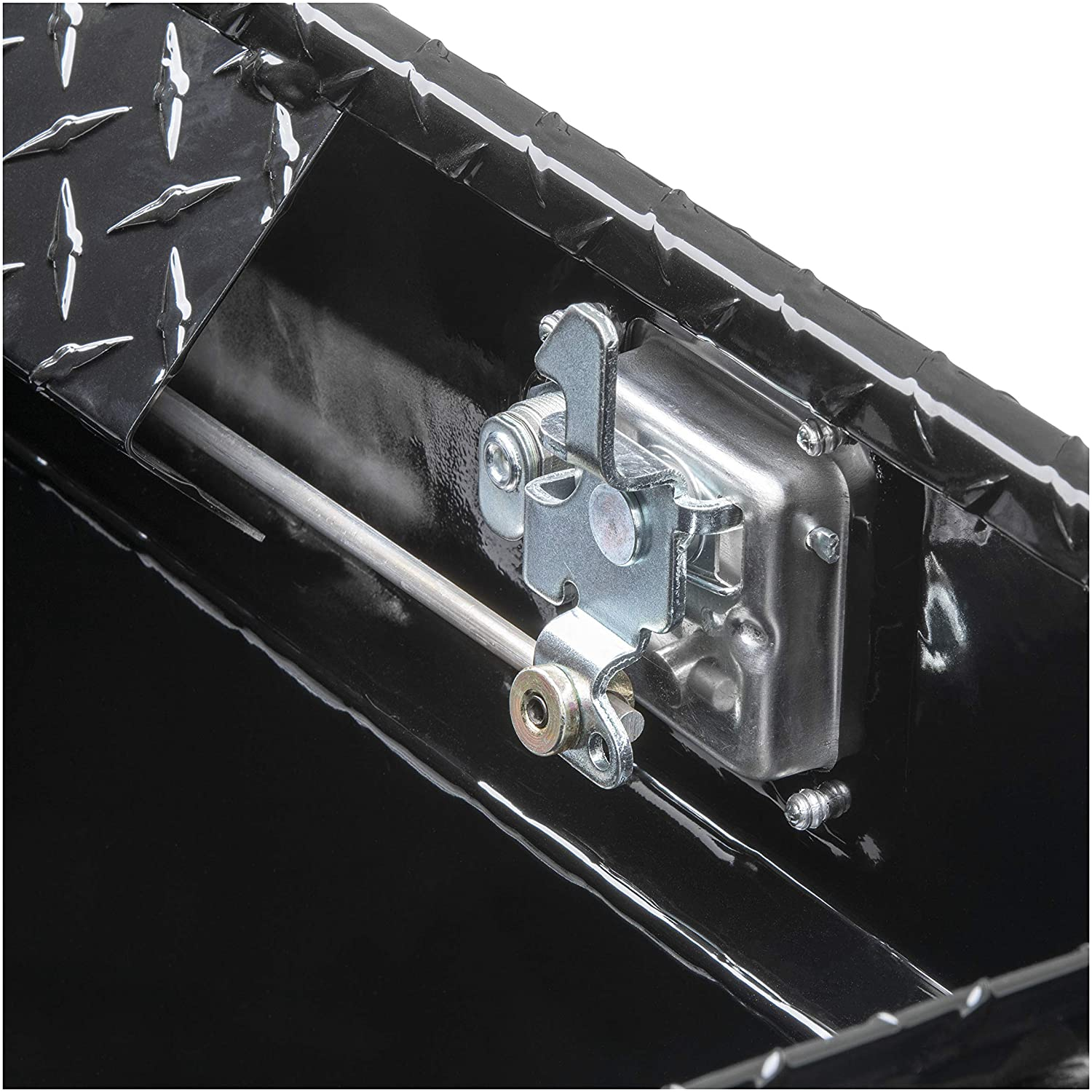 Paddle Lift Lock UWS TBS-60-LP-BLK Black 60 Single Lid Crossover Low Profile