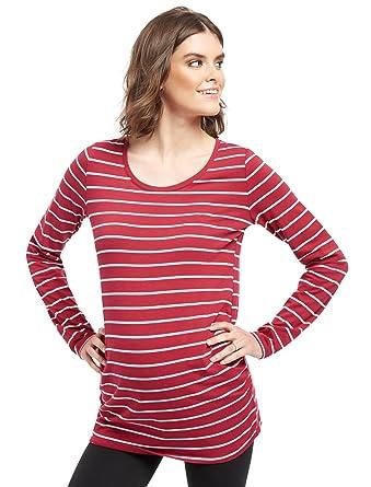 796e3a485bbf1 Motherhood Bumpstart Long Sleeve Maternity T-shirt (2 Pack) at Amazon  Women's Clothing store: