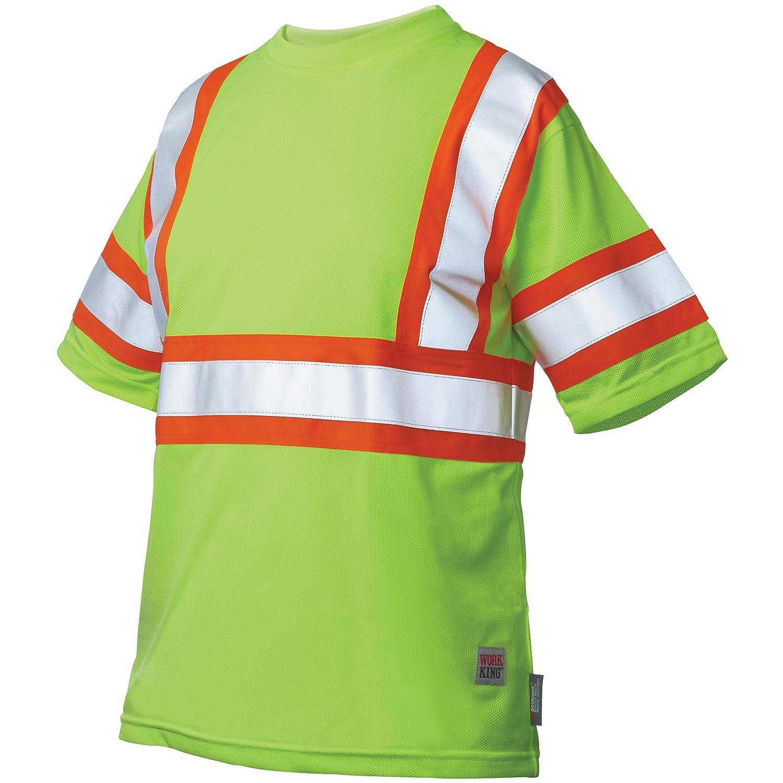 Work King Safety SHIRT メンズ B00GJ7TA2M Small Flgr Flgr Small