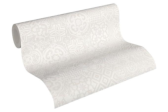 A.S Revival Vlies Tapete 32735-4 327354 Muster Modern braun silber glänzend