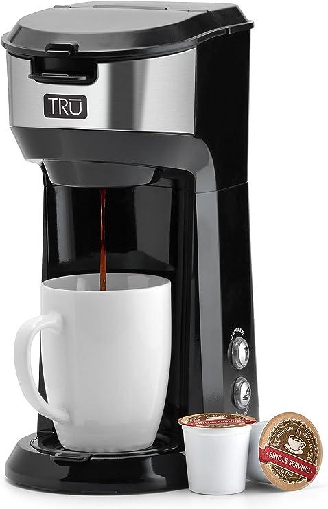 Amazon.com: Tru CM-1177GR cafetera eléctrica de una sola ...