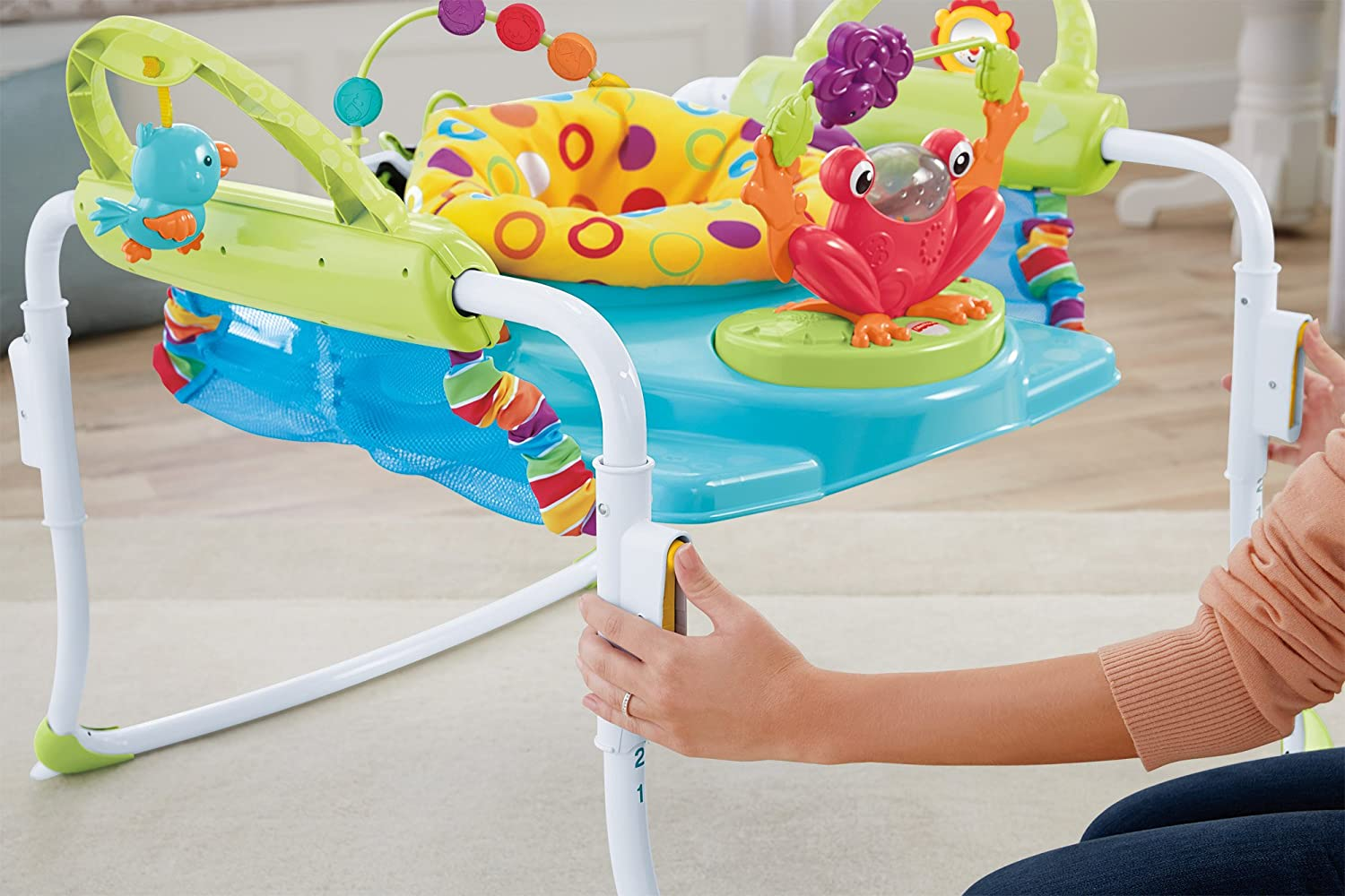 2d3318ac8535 Amazon.com   Fisher-Price First Steps Jumperoo   Baby Walkers   Baby