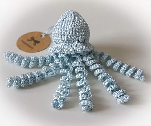 Galician Octopus Amigurumi Pattern - Sueños Blanditos | 417x500