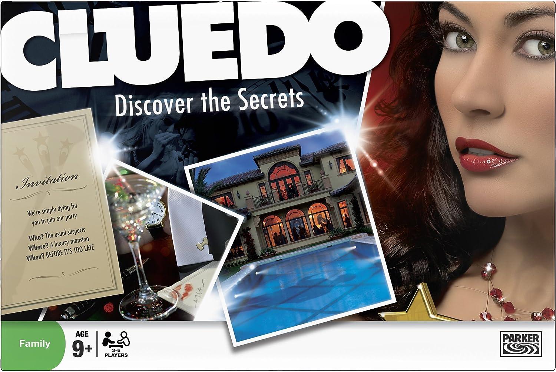 Hasbro Cluedo - Juego de mesa (en inglés): Amazon.es: Juguetes y ...
