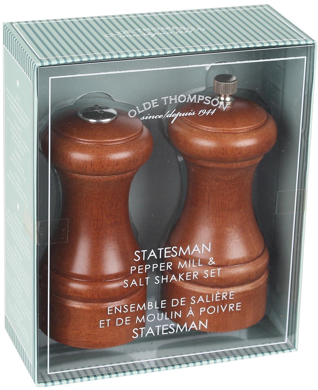 Olde Thompson 5 Walnut Statesman Peppermill and Salt Shaker