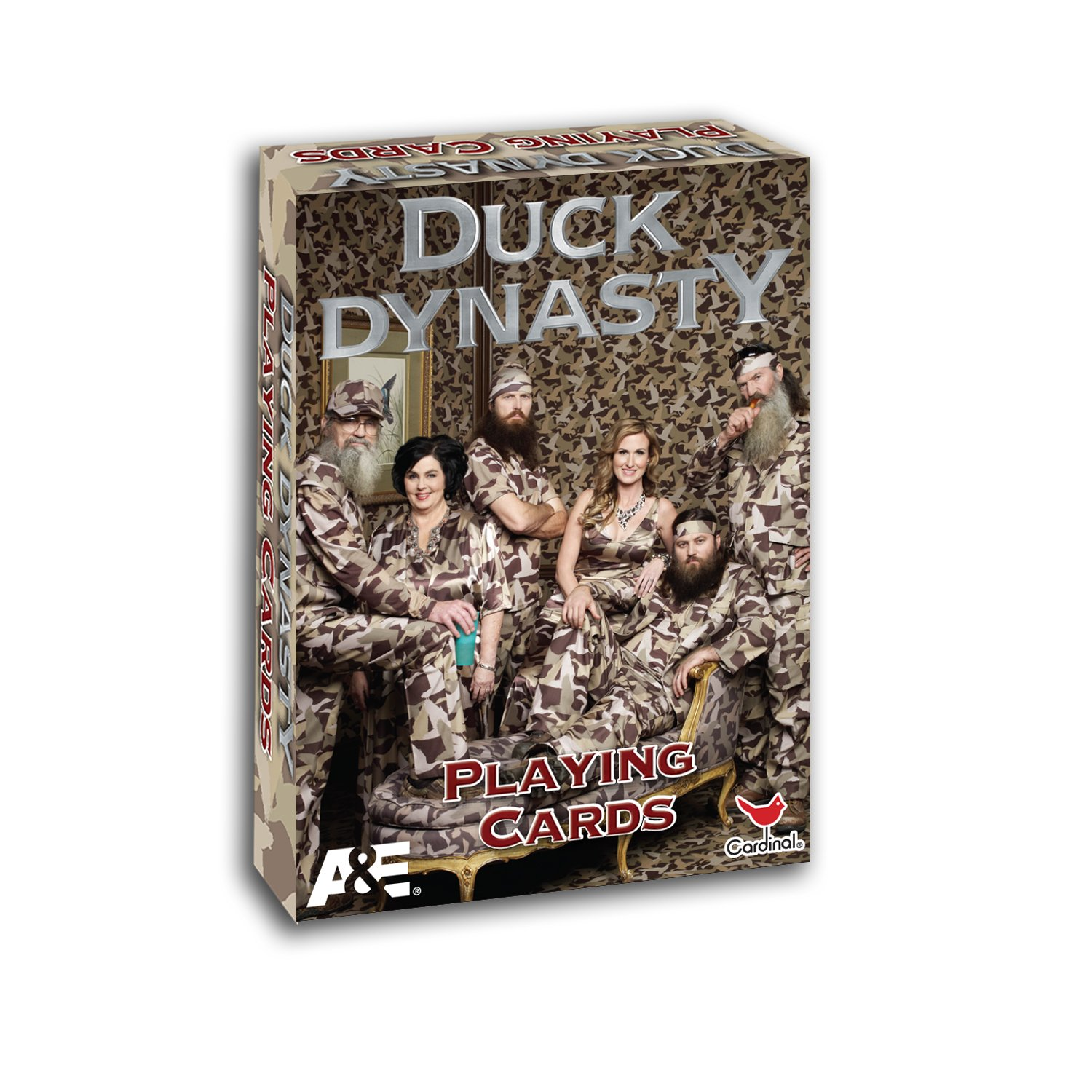 Amazon duck dynasty playing cards styles may vary toys games bookmarktalkfo Choice Image