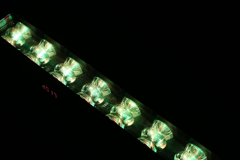 DragonX Mini Horizon Cool White LED Wash Mega Bar//DJ Stage Strip Light Compatible with DMX Controller