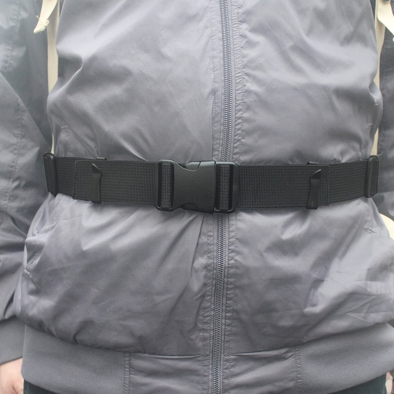 One Backpack Waist Belt Backpack Waist Strap Universal Fit with Buckle