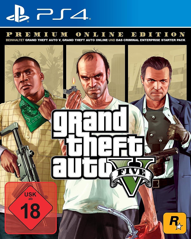 Grand Theft Auto V - Premium Edition - PlayStation 4 [Importación alemana]: Amazon.es: Videojuegos