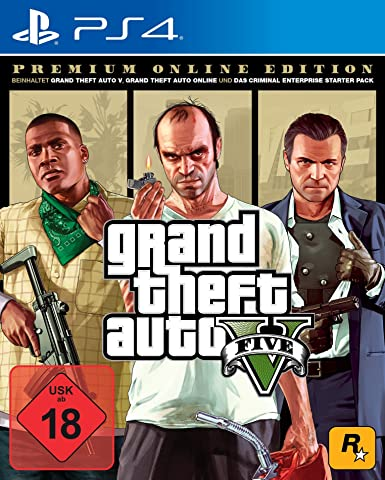 Grand Theft Auto V - Premium Edition - PlayStation 4 [Importación alemana]: Amazon.es: Videojuegos