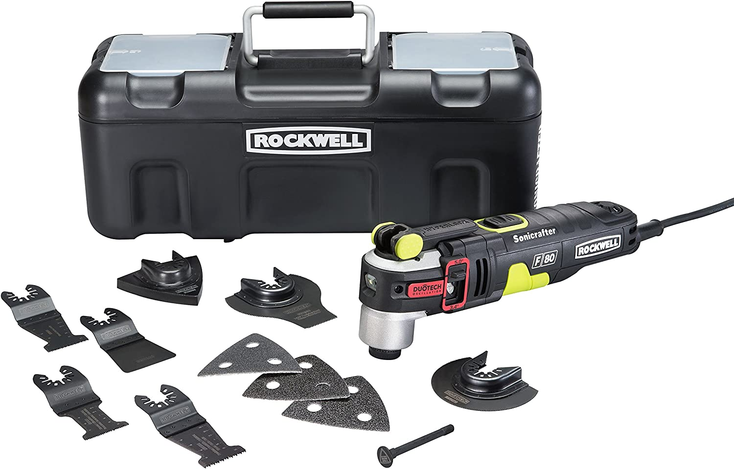 3. Rockwell RK5151K 4.2-Amp Sonicrafter F80 Oscillating Multi-Tool