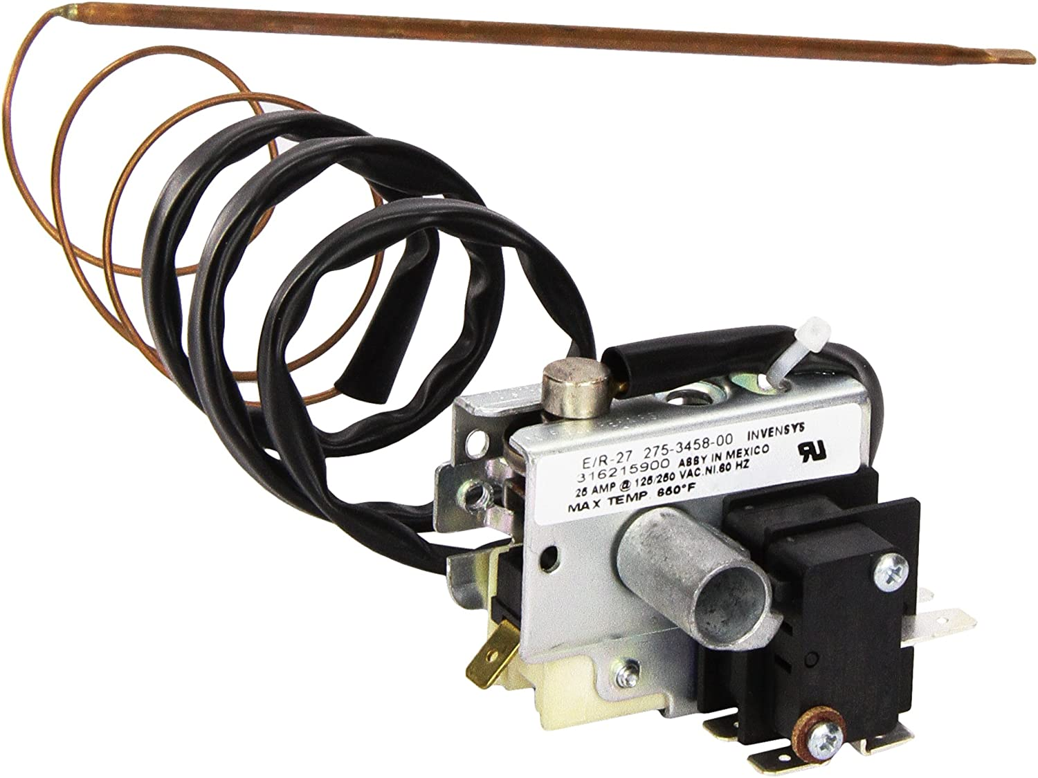 Frigidaire 316215900 Thermostat Range/Stove/Oven, 1, Silver