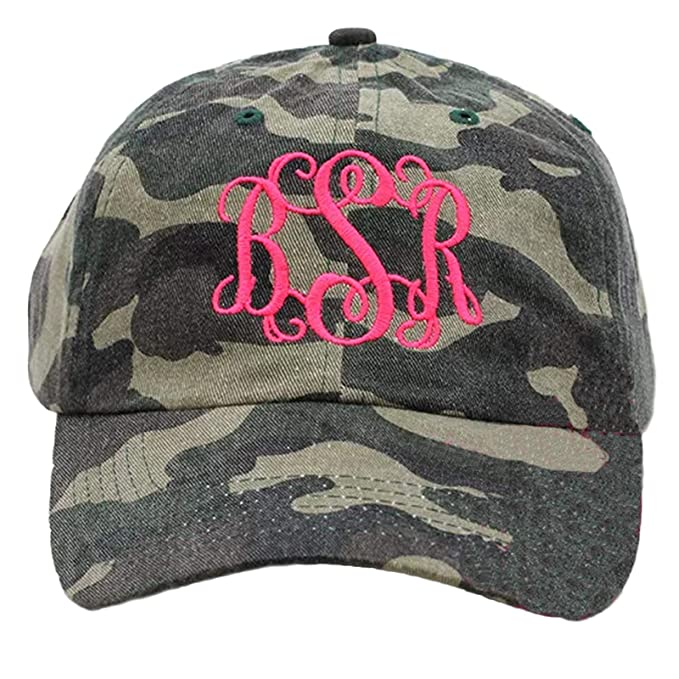 2e102cb484942 Tiny Expressions Women's Monogram Baseball Hat | 30 Plus Hat & Thread  Colors | Monogrammed Gifts for Women