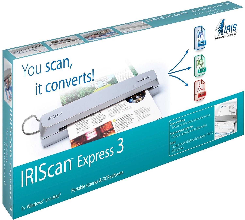 IRIS 457484 IRISCan Express 3: Amazon.co.uk: Electronics
