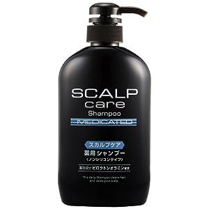 熊野油脂 スカルプケア薬用シャンプー600ml