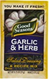 Good Seasons Salad Dressing & Recipe Mix - Garlic & Herb - 0.75 oz