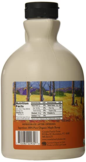 Eating Our Way Through Wisconsin Film_16 >> Amazon Com Coombs Family Farms Maple Syrup Organic Grade A Amber