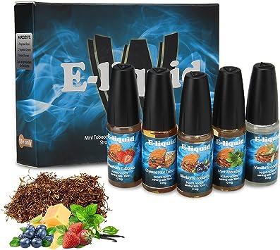 Wotek 5 X 10ml E-líquido Tobaco, E Cigarrillo Sabor Tabaco ...