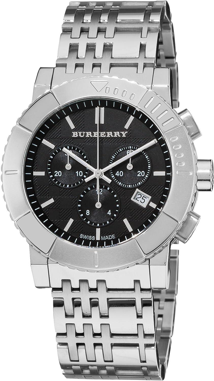 Burberry Men s BU2304 Trench Chronograph Black Chronograph Dial Watch