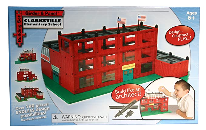Amazon.com: Viga y panel Escuela Set de construcción: Toys ...