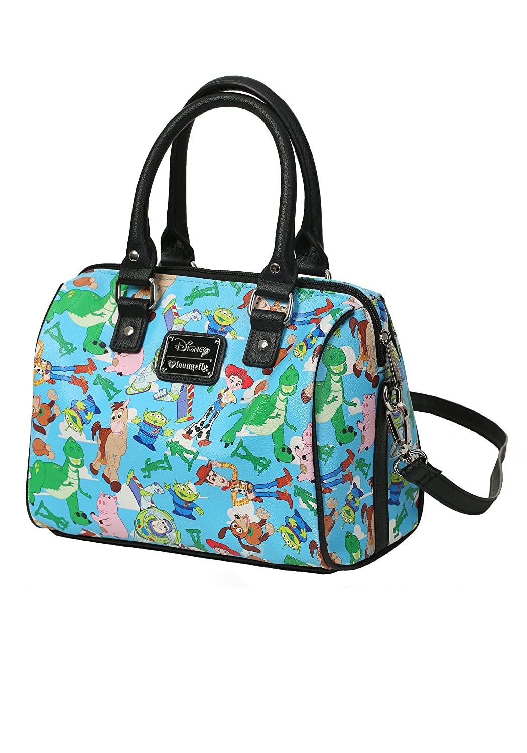 f0d3ef1542 Amazon.com: Loungefly Toy Story Purse Standard: Clothing
