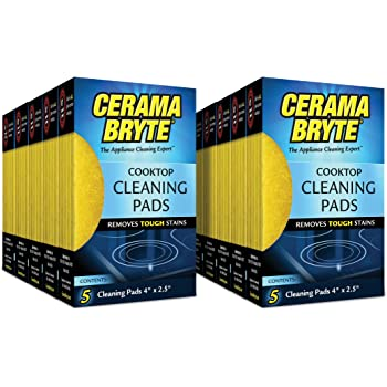 Amazon Com Cerama Bryte Glass Ceramic Cooktop Cleaning