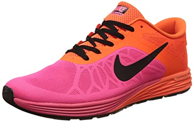 Nike Men's Lunar Launch Orange Running Shoes - 10 UK/India (45 EU)