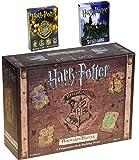 Harry Potter Hogwarts Battle _ A Cooperative Deck Building Game _ Bonus 2 Unique Decks of Harry Potter Themed Playing Cards _ Bundled Items