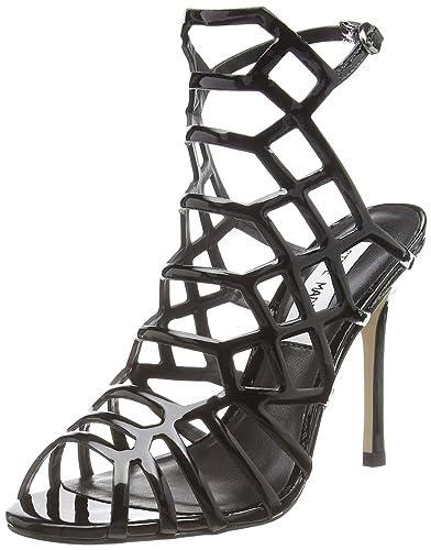 d8dde3c8638 Steve Madden Footwear Women's Slithur Sandal Open-Toe Pumps