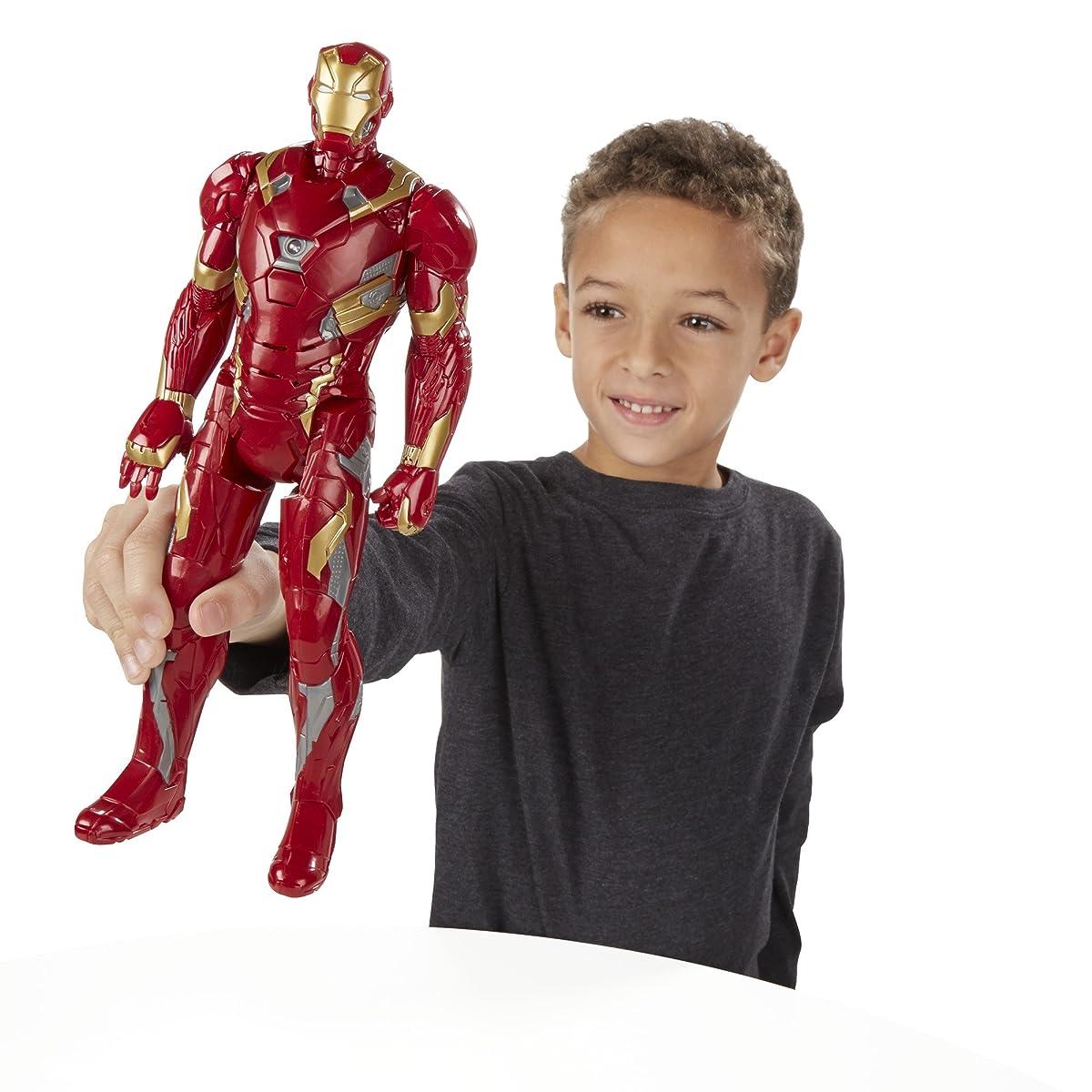 Marvel Titan Hero Series Iron Man Electronic Figure